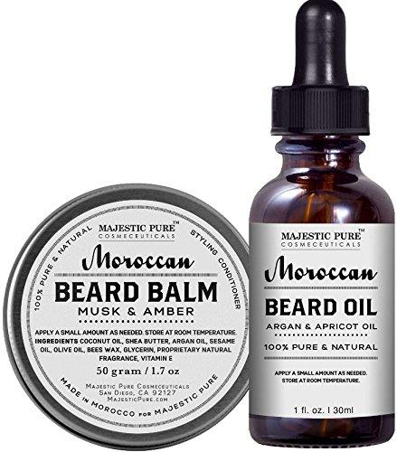 balsamo y aceite para la barba