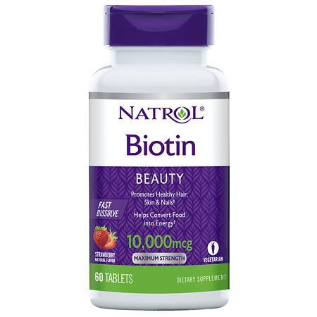 biotina natrol 10mil