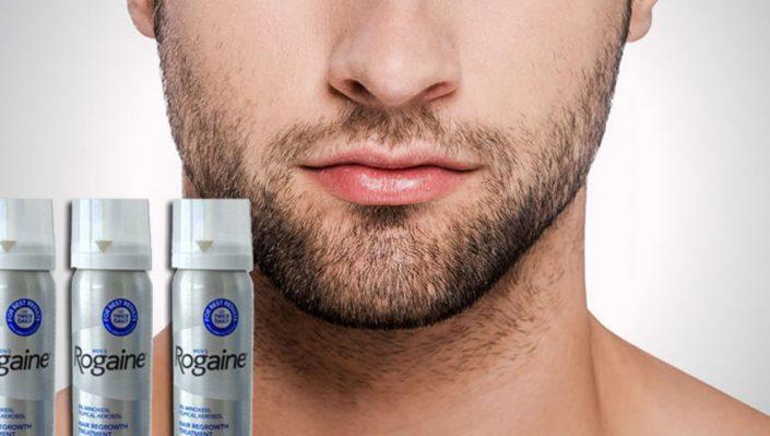 minoxidil para la barba